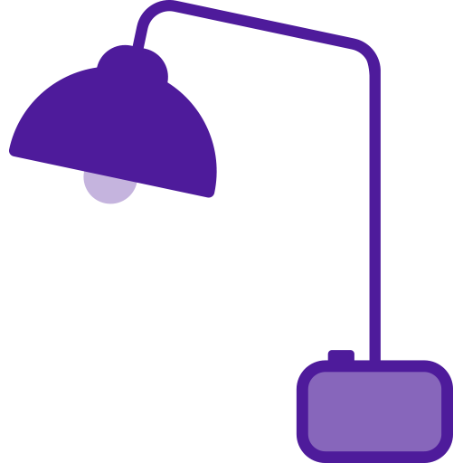 research, desklamp